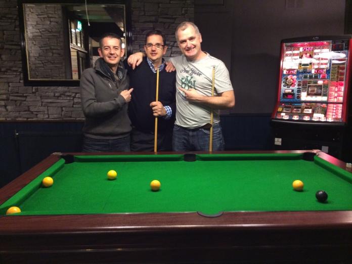 Loz, Al and Declan