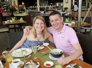 Breakfast at the Mandarin Oriental, Bangkok